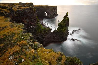 Sea Arch at Sxaholsbarg in Iceland-Raul Touzon-Photographic Print