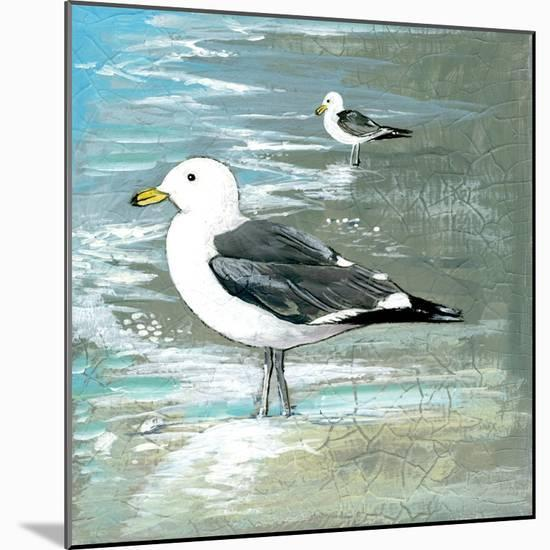 Sea Birds I-Gregory Gorham-Mounted Art Print
