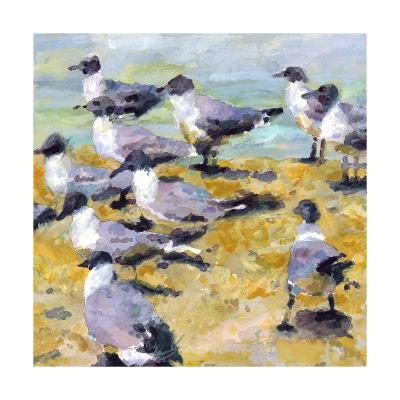 Sea Birds Watercolor I-Edie Fagan-Art Print