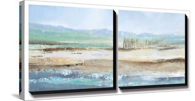 Sea Breeze II-Tita Quintero-Stretched Canvas Print