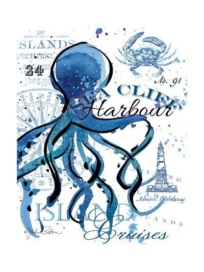Sea Cliff Octopus-Julie Paton-Art Print