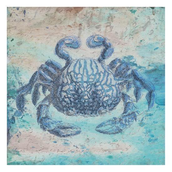 Sea Crab-Sheldon Lewis-Art Print