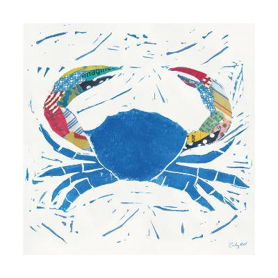 Sea Creature Crab Color-Courtney Prahl-Art Print