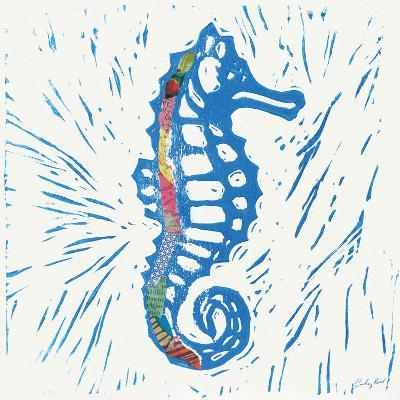 Sea Creature Sea Horse Color-Courtney Prahl-Art Print