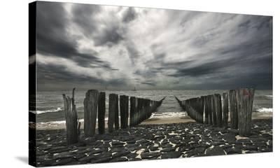 Sea Defense--Stretched Canvas Print