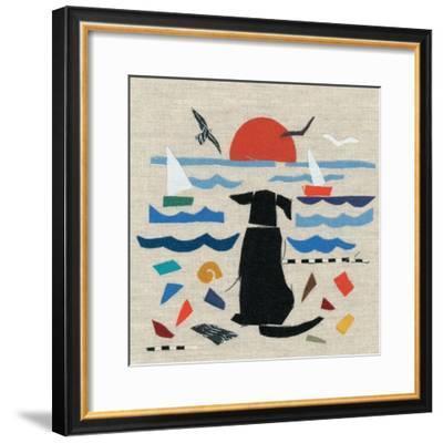 Sea Dog-Jenny Frean-Framed Giclee Print