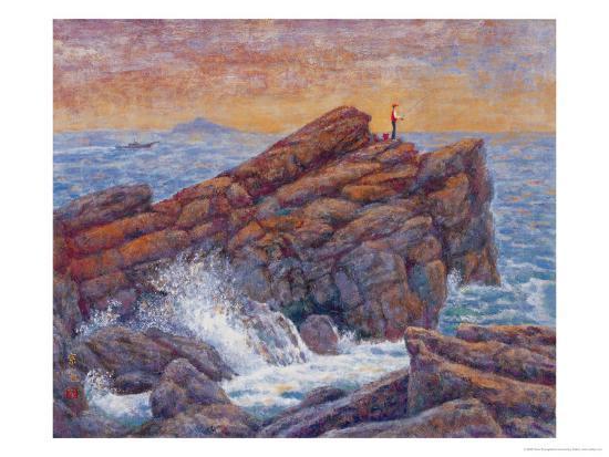 Sea Fishing-Chao Tsungkwan-Giclee Print