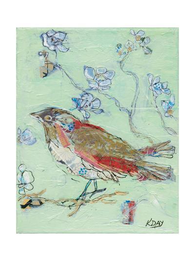 Sea Foam Bird-Kellie Day-Art Print