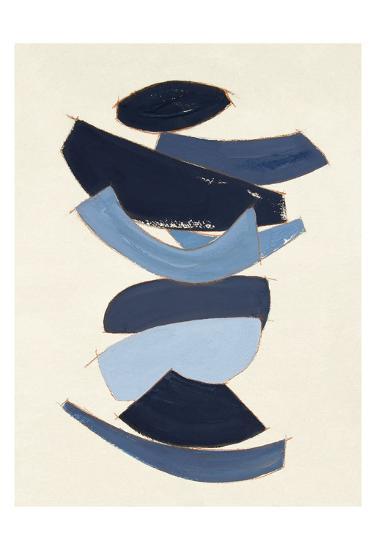 Sea Forms IV-Rob Delamater-Art Print