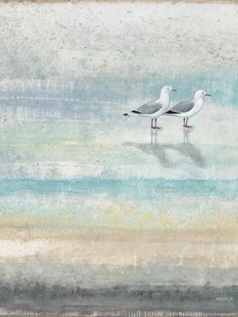 Sea Glass Shore 2-Norman Wyatt Jr^-Art Print
