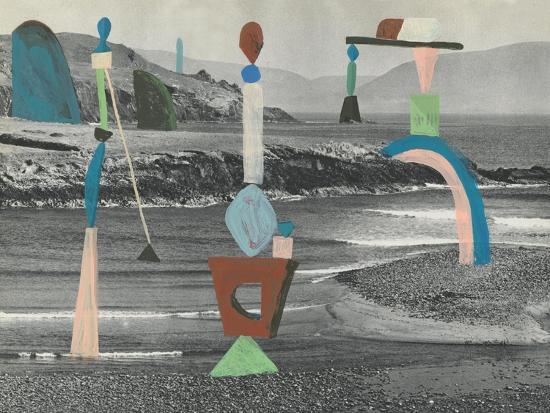 Sea Glass-Danielle Kroll-Giclee Print