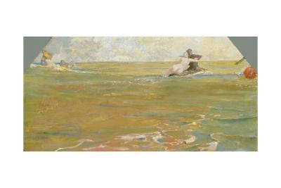 Sea Gods in the Ocean, 1884-85-Max Klinger-Giclee Print