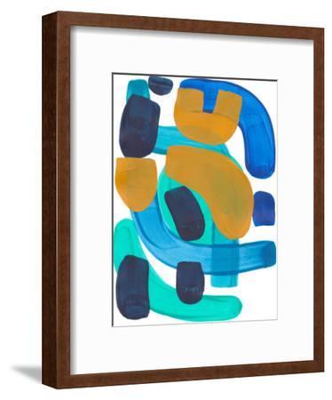 Sea Gold-Ejaaz Haniff-Framed Art Print
