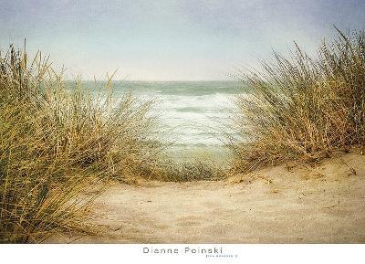 Sea Grasses 1-Dianne Poinski-Art Print