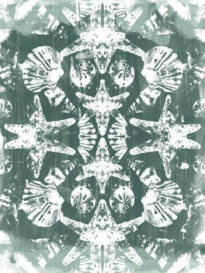 Sea Green Kaleidoscope I-June Vess-Art Print