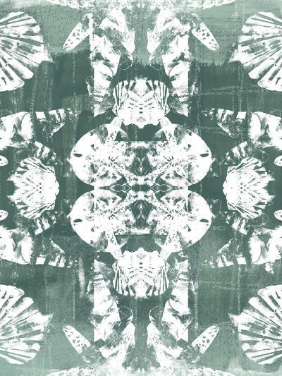 Sea Green Kaleidoscope IV-June Vess-Art Print