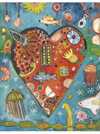 Sea Heart-Jill Mayberg-Giclee Print