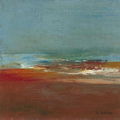 Sea Horizon I-W^ Green-Aldridge-Art Print