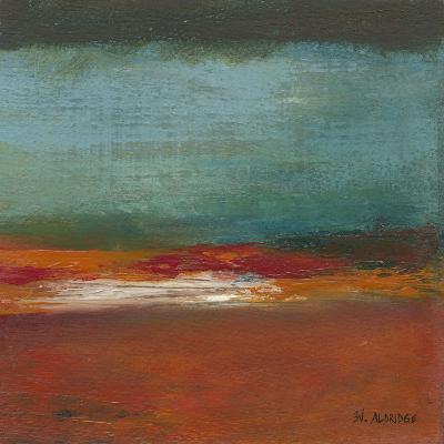 Sea Horizon II-W^ Green-Aldridge-Art Print