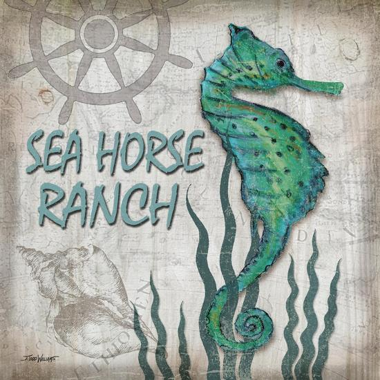Sea Horse Ranch-Todd Williams-Art Print