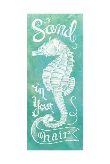 Sea Horse-Mary Urban-Art Print