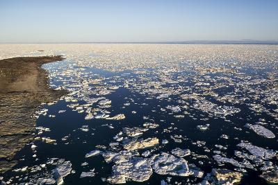 Sea Ice, Hudson Bay, Nunavut, Canada-Paul Souders-Photographic Print