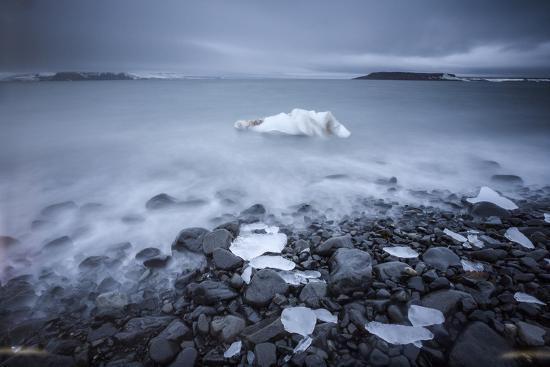 Sea Ice Off Hooker Island-Cory Richards-Photographic Print