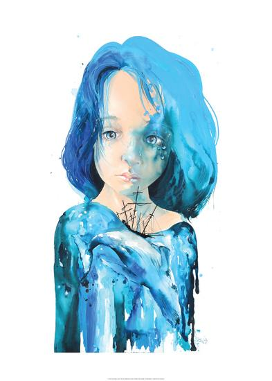 Sea Inside-Lora Zombie-Art Print