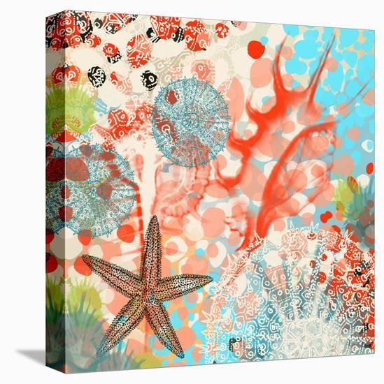 Sea Life Activity-Yashna-Stretched Canvas Print