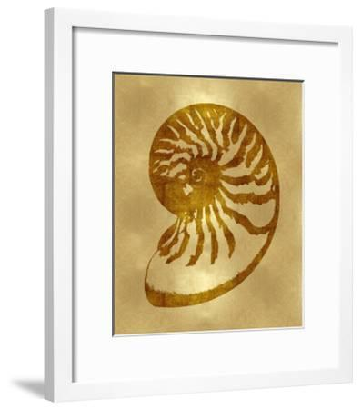 Sea Life - Gold III-Melonie Miller-Framed Giclee Print