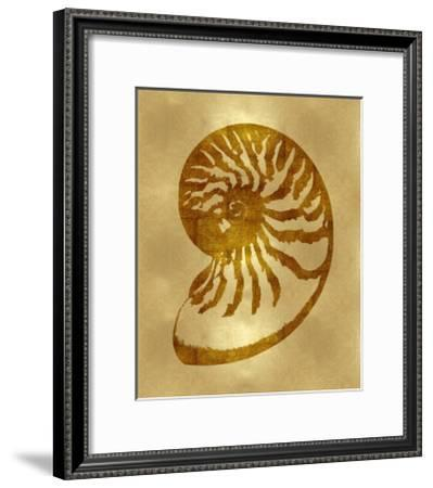 Sea Life - Gold III-Melonie Miller-Framed Giclee Print
