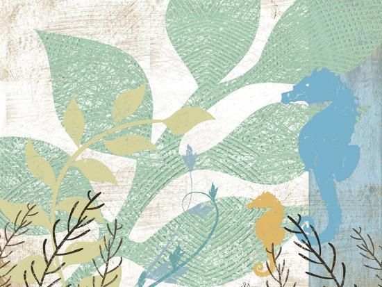 Sea Life I-Jennifer Pugh-Art Print