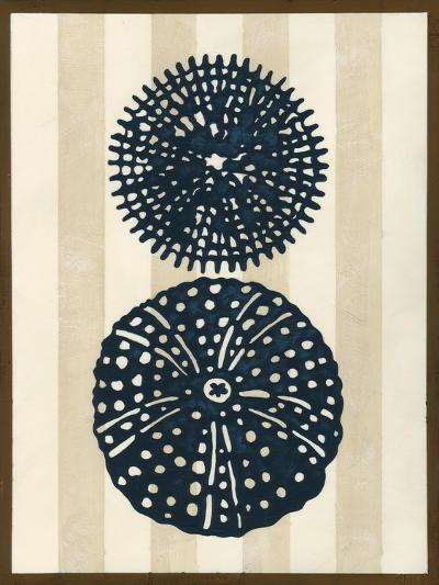 Sea Life Silhouette II-June Erica Vess-Art Print