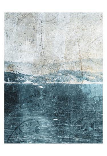 Sea Life-Jace Grey-Art Print