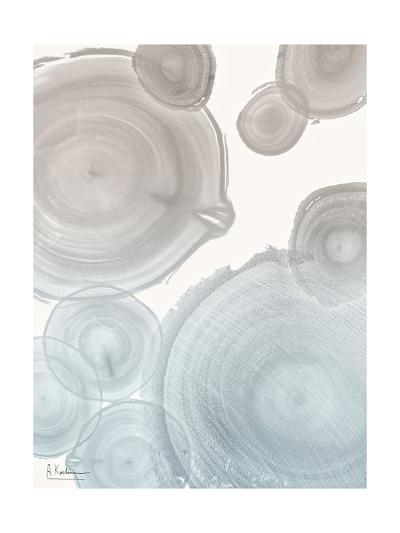 Sea Mist Tree Rings 2-Albert Koetsier-Art Print