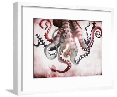 Sea Monster 2-Sam Nagel-Framed Art Print