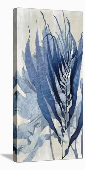 Sea Nature in Blue I-Melonie Miller-Stretched Canvas Print