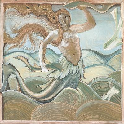 Sea Nymph-Edward Burne-Jones-Giclee Print