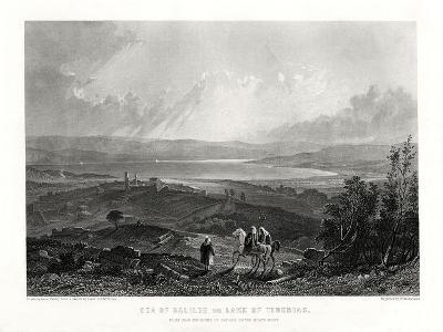 Sea of Galilee or Lake of Tiberias, 1887-W Richardson-Giclee Print