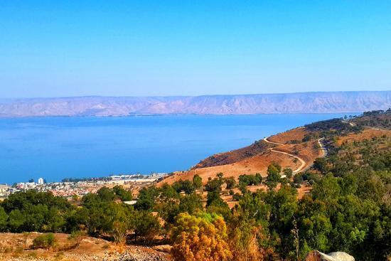Sea of Galilee-YossiAharon-Photographic Print