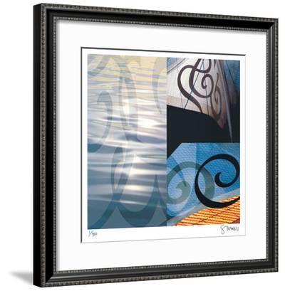 Sea of Uncertainty-Scott Sandell-Framed Giclee Print