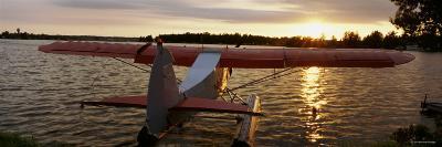 Sea Plane, Lake Spenard, Anchorage, Alaska, USA--Photographic Print