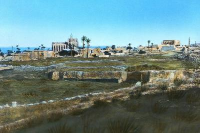 Sea Road to the East, Old Famagusta, Cyprus--Giclee Print