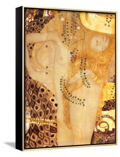 Sea Serpent, c.1907-Gustav Klimt-Framed Canvas Print