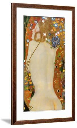 Sea Serpents IV, c.1907-Gustav Klimt-Framed Art Print