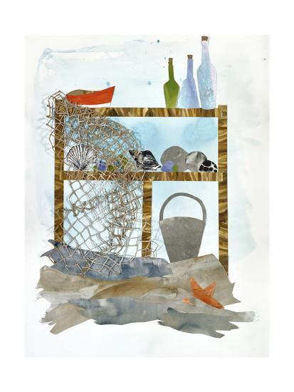 Sea Shelf 1-Brenna Harvey-Premium Giclee Print