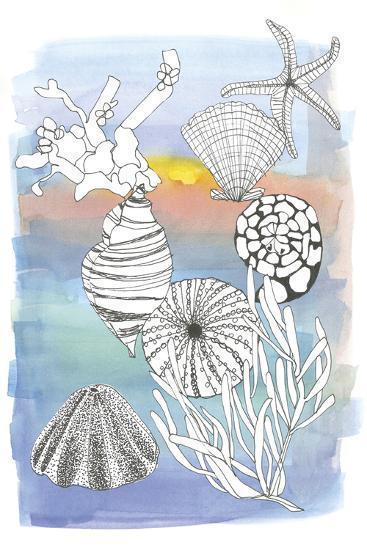 Sea Shell II-Katrien Soeffers-Art Print