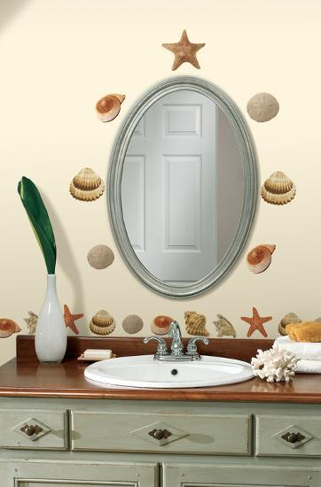 Sea Shells Peel & Stick Wall Decals--Wall Decal
