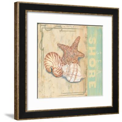 Sea Shore-Pamela Desgrosellier-Framed Art Print