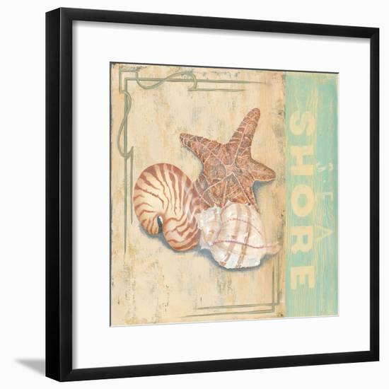 Sea Shore-Pamela Desgrosellier-Framed Art Print